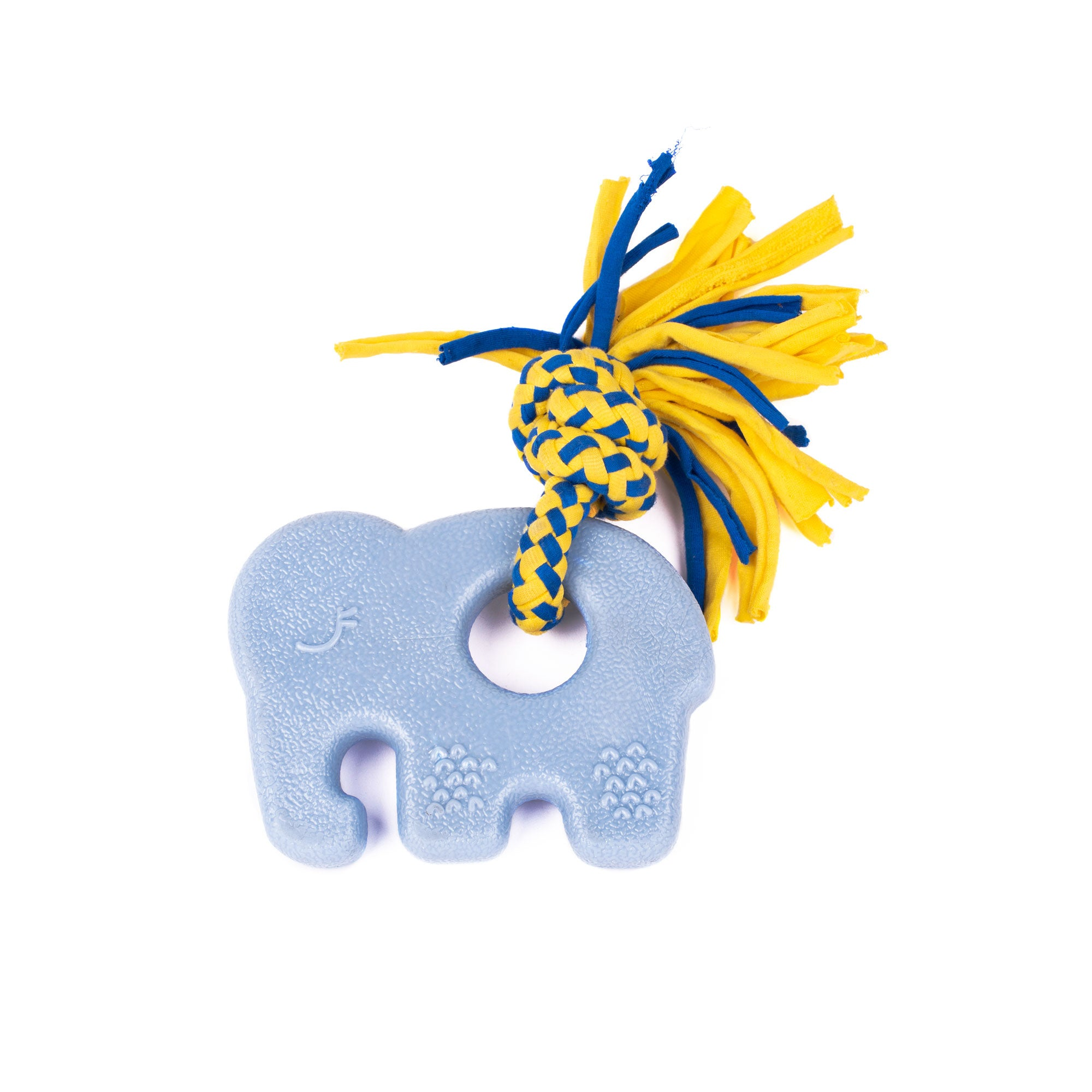 Zippy Paws Tuff Teether Blue Elephant Dog Toy