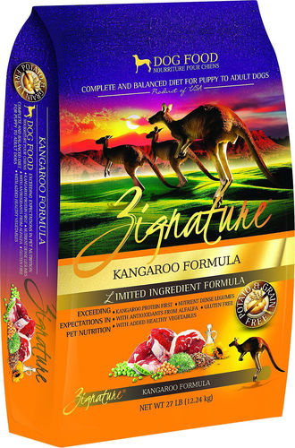 Zignature LID Kangaroo Dog Food