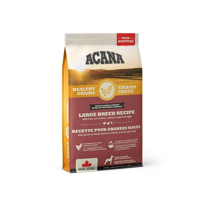 Acana Healthy Grains Large Breed Dog Food (10.2kg/22.5lb)