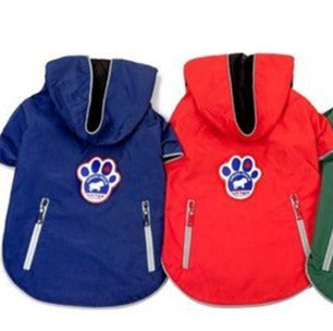 Canada Pooch Storm Slicker Jacket - Red or Blue (20)