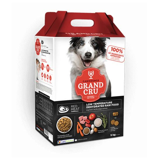 Canisource Raw Dehydrated Red Meat Dog Food
