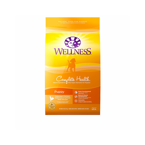 Wellness Complete Chicken, Oatmeal & Salmon Puppy Dog Food