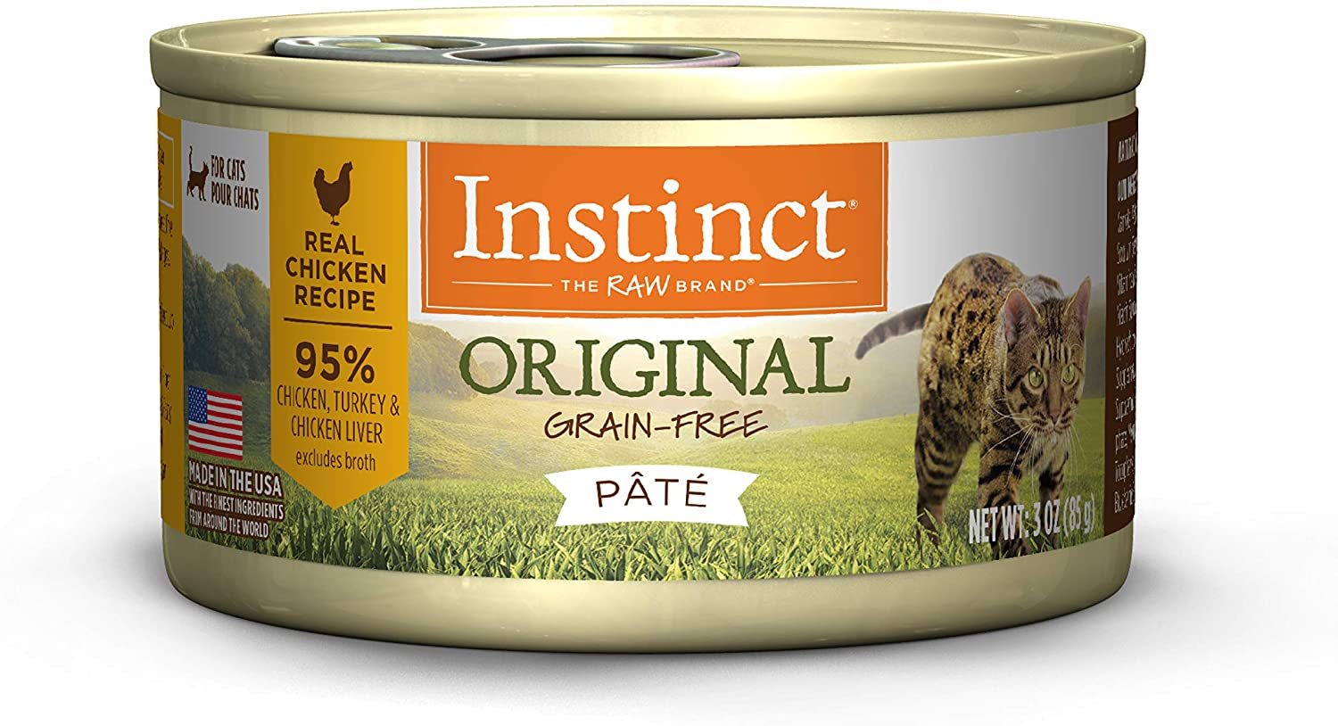 Instinct Chicken GF Canned Cat Food