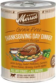 Merrick Thanksgiving Day Dinner Canned Dog Food (374g/13.2oz)