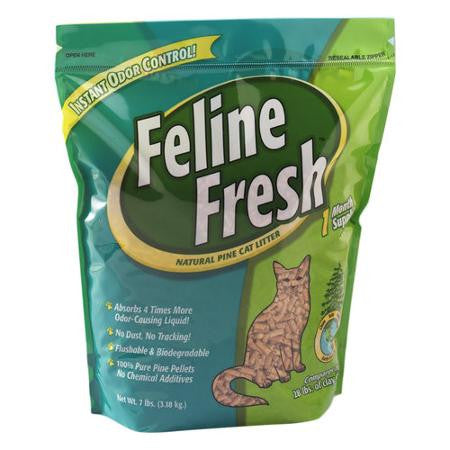 Feline Fresh Natural Pine Pellet Cat Litter
