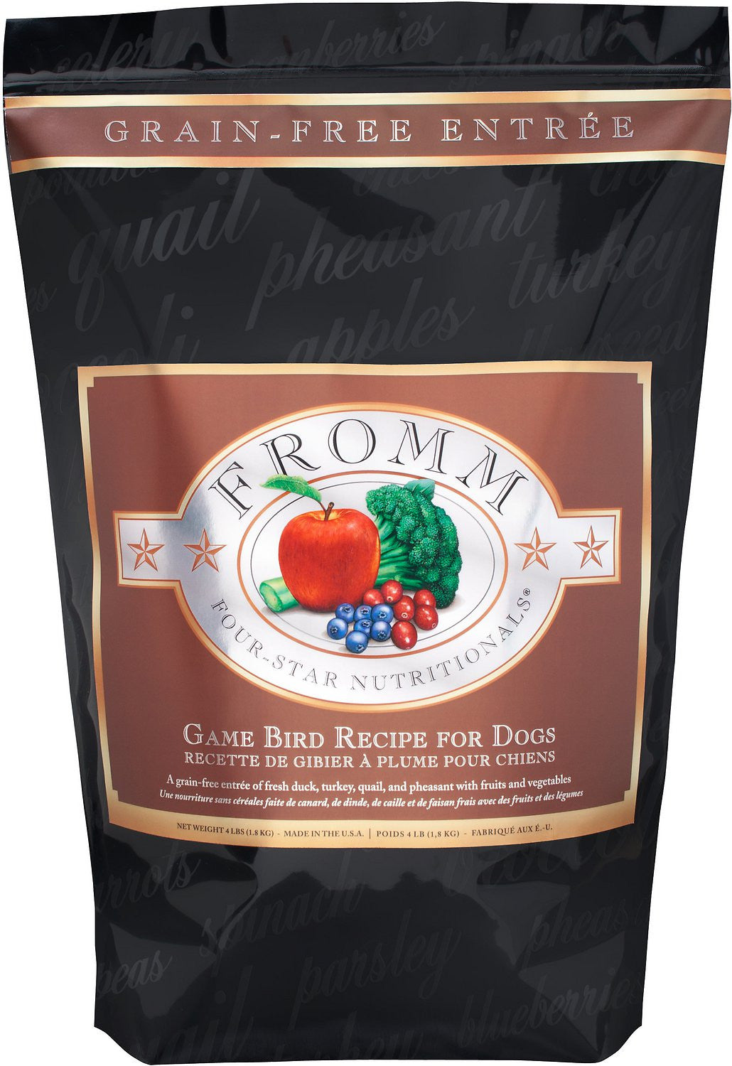 Fromm Four Star Game Bird GF Dog Food