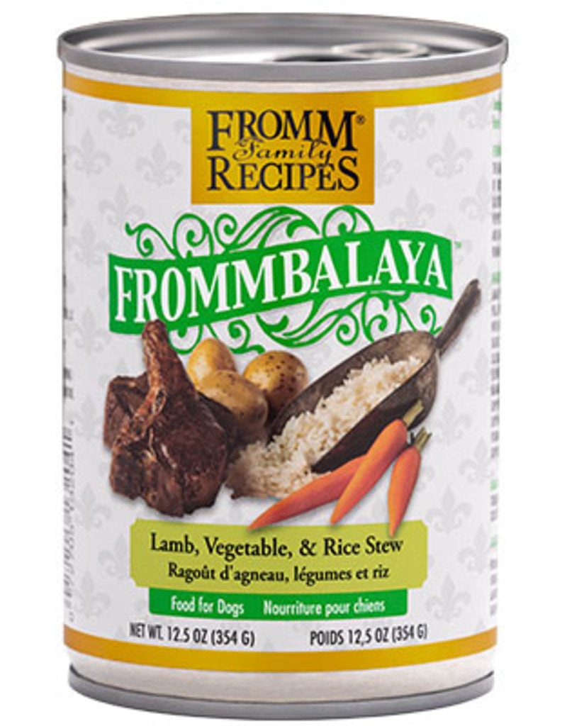 Fromm Frommbalaya Lamb, Veg & Rice Stew Canned Dog Food (12.5oz) - Wooftown.ca