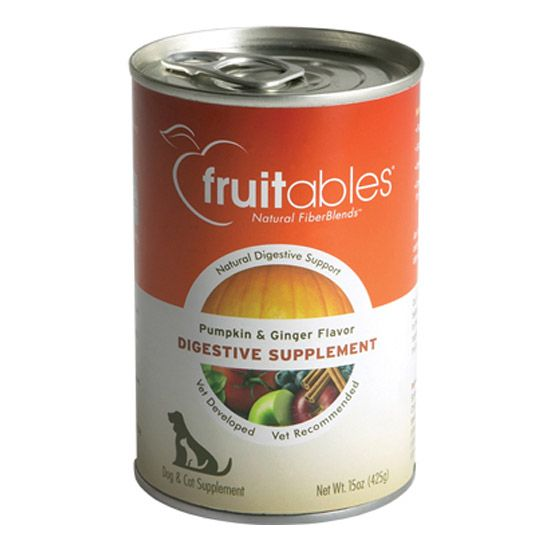 Fruitables can Digestive Supplement Pumpkin & Ginger (425g/15oz)