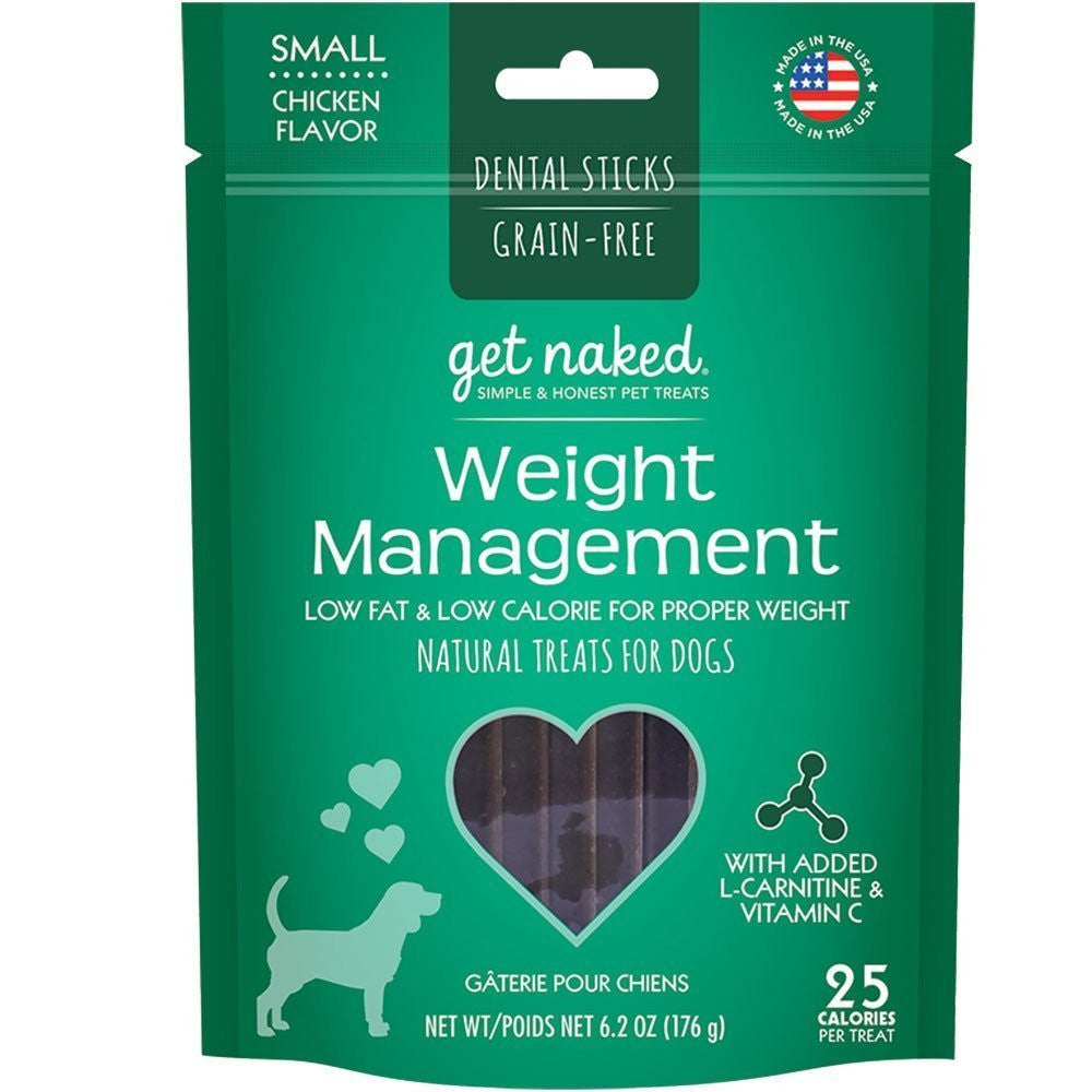 Get Naked Dental Chews Weight Management