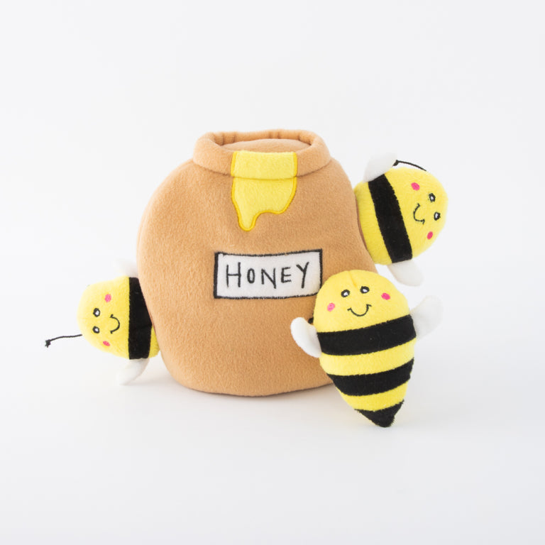 Zippy Burrows Honey Pot Dog Toy