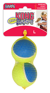 Kong Ultra Squeak Air Ball (L) 2 Pack