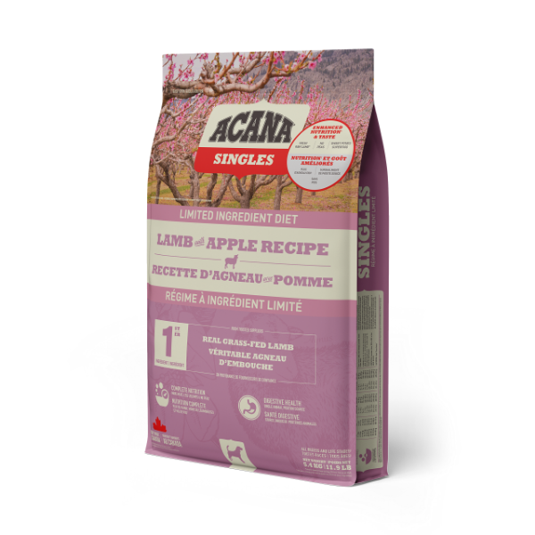 Acana Lamb with Apple Dog Food (Formally Grass-fed Lamb)