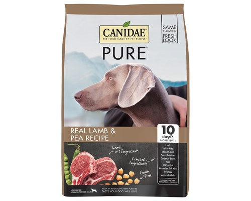 Canidae Pure GF Lamb & Pea Dog Food (10.8kg/24lbs)