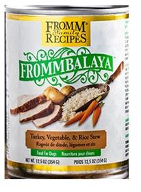 Fromm Frommbalaya Turkey, Veg & Rice Stew Canned Dog Food (12.5oz)