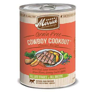 Merrick Cowboy GF Cookout Canned Dog Food (374g/13.2oz)