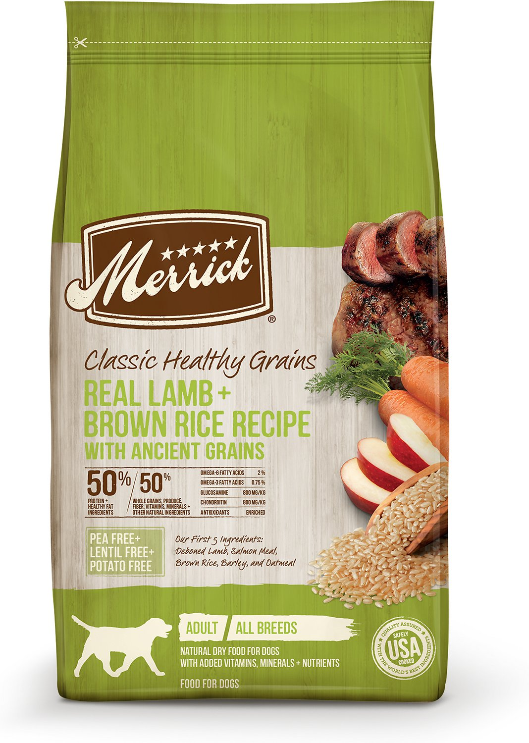 Merrick Classic Lamb & Brown Rice with Ancient Grains Dog Food