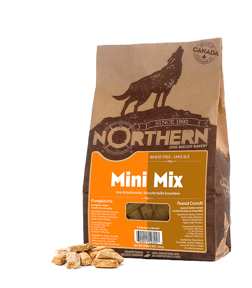 Northern Biscuit Mini Mix - Pumpkin Pie & Peanut Crunch! (450g)