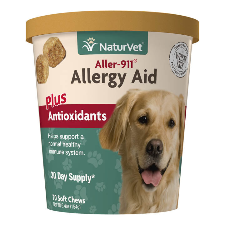 NaturVet Soft Chew Allergy Aid & Immune Support (70ct)