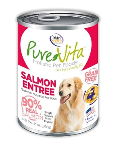 PureVita Salmon Canned Dog Food (13oz)