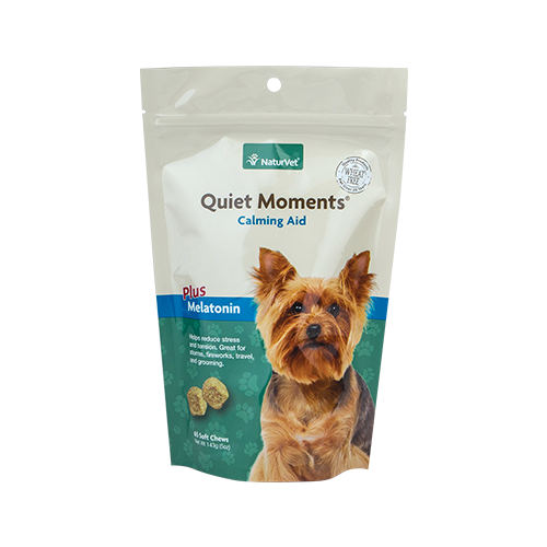 NaturVet Dog Quiet Moments Calming Aid Soft Chews (65ct)