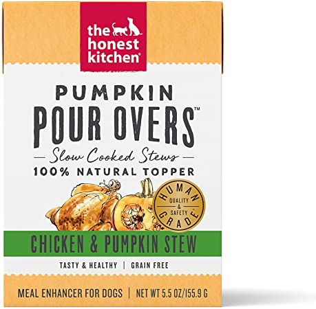The Honest Kitchen Dog Pour Over Chicken & Pumpkin Stew 5.5oz