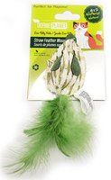 Define Planet Straw Feather Mouse Cat Toy