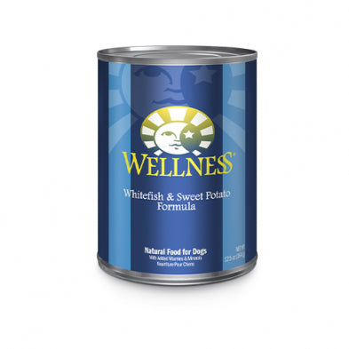 Wellness Complete Health Whitefish & Sweet Potato Canned Dog Food (354g/12.5oz) (Best Before Date: April 2021)