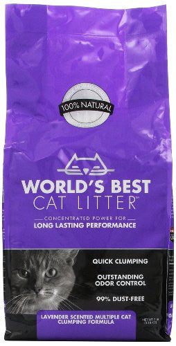 World's Best Scented Multiple Cat Clumping Litter