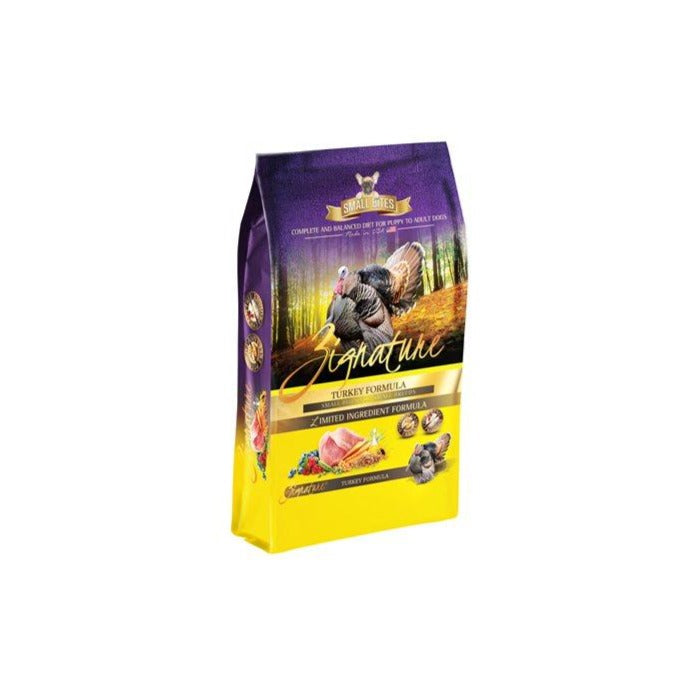 Zignature LID Turkey Small Bites GF Dog Food
