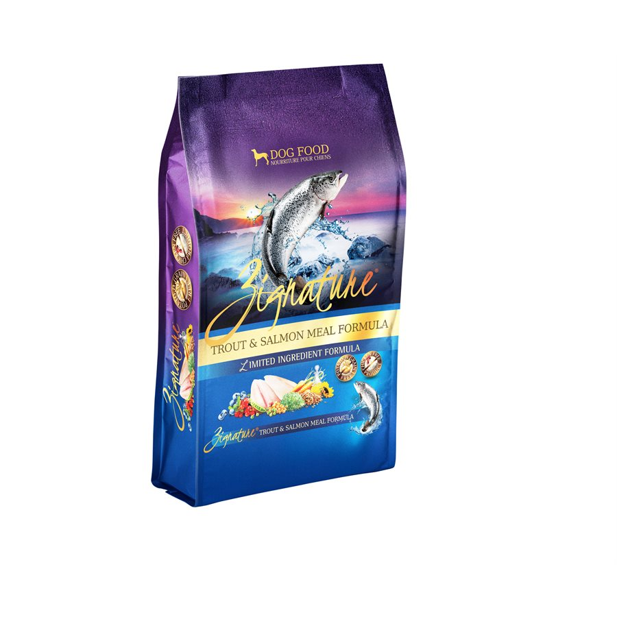 Zignature LID Trout & Salmon GF Dog Food (1.8kg/4lb)