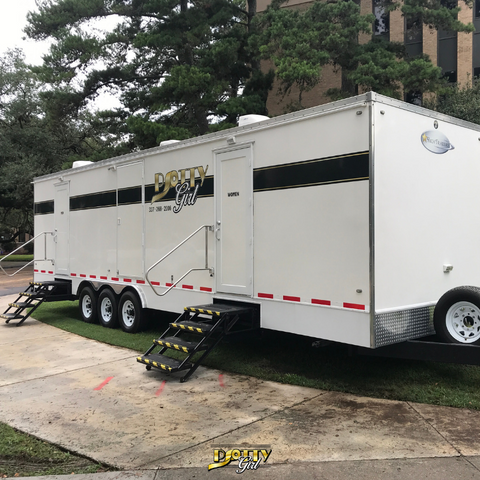 disaster relief shower trailer_rent portable restroom trailer_porta potty rentals_hurricane relief company
