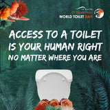 Potty Girl_World Toilet Day_Human Rights_Portable Toilet