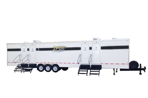 16 Station Rich Restroom Trailer Rental