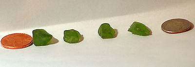 Lime Green Peridot  facet rough - radiantrocksct