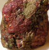 South African Stichtite mixed with Base rock 3.2 oz soft purple stone carve/cab