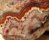 Red Crazy Lace Agate Cabochon 81 carats - radiantrocksct