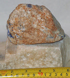 Russian Lapis Lazuli lapidary 1.3 lb rough Nice Blue and some gold pyrites - radiantrocksct