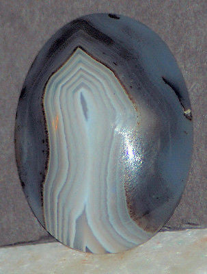 Brazilian Banded Agate Oval Cabochon  66.5 carats - radiantrocksct