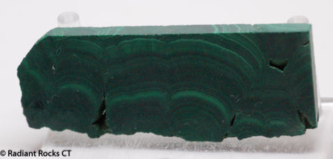 Chatoyant Congo Malachite slab
