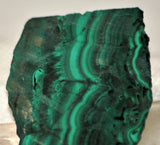 Congo Malachite lapidary slab 6.6 oz (185 grams) - radiantrocksct