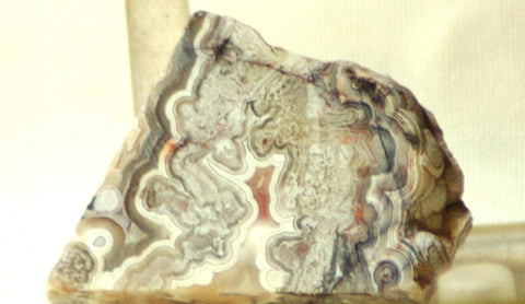 Crazy Lace Agate Cabochon Slab Great patterns 0.6 oz (18 grams) - radiantrocksct