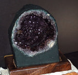 Amethyst Cathedral Geode Display - deep cavern beauty! - radiantrocksct