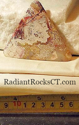 Red Crazy Lace Agate Cabochon 160 carats - radiantrocksct