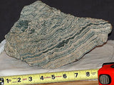 Russian Picture Rock Scarn Datolite lapidary rough 14+ lbs slab/cab great bands