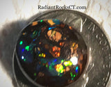 Koroit Boulder Opal double sided Cabochon bright fire 10 carats - radiantrocksct
