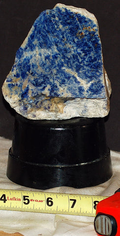 Russian Lapis Lazuli lapidary faced rough 4.6 lbs (2115 grams)