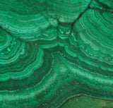 Congo Malachite lapidary slab 6 oz (170 grams) - radiantrocksct