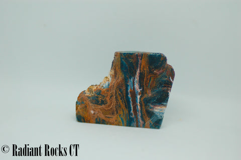 Namibian Pietersite Blue Gold  lapidary heel slab 0.8 oz  (20 grams)