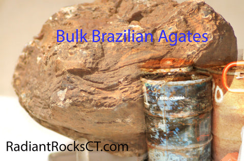 Brazilian Agate Bulk by box or larger quantities