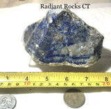 Russian Lapis Lazuli lapidary rough 26.2 oz (745 grams) - radiantrocksct